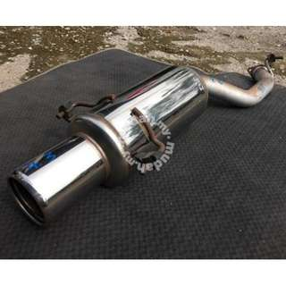 "Muffler Exhaust STi Genome Sports Subaru 2.3"" Jpn"