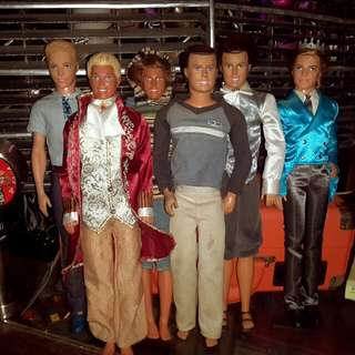 6 pcs Barbie Boys