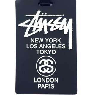 Stussy Luggage Tag