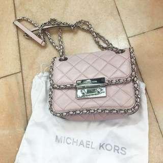 Michael kors Pink leather chain bag
