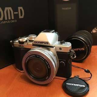 OLYMPUS EM-10 Mark II連雙鏡頭套裝 99%New