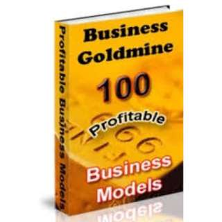 Business Goldmine: 100 Profitable Business Models! eBook