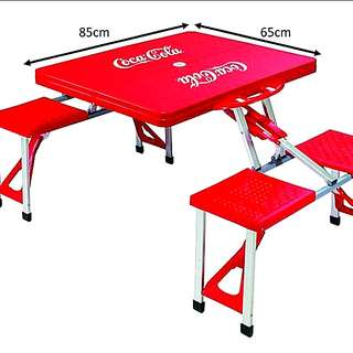 OFFER! COCA-COLA Foldable Table