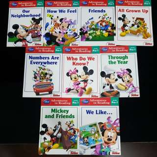 Disney Collections Reading Books