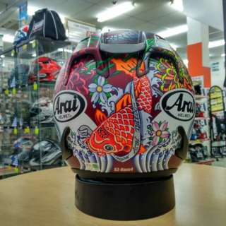Authentic Arai Ram4 Oriental Matte red!!