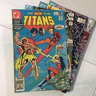 DC comic. Teen Titans