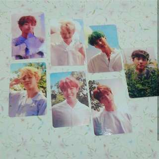 BTS POLAROID LY SET B #Bajet20