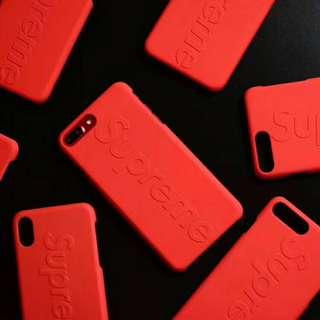 Supreme Red/White/Black Colourway Phone Case iPhone 6/7/8/X