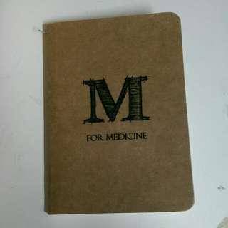 M for Medicine 特式記事簿