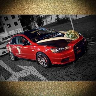 Wedding Car Deco (Gold)