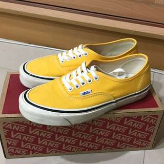 Vans Authentic 44DX 黃色