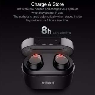 Wireless Bluetooth Earpiece with 8h extra battery