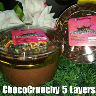 Coklat krispy 5 layer