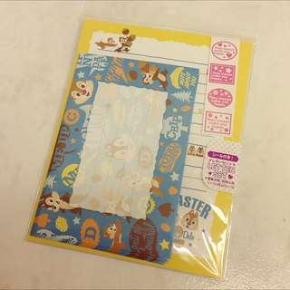 Disney Chip & Dale Letter Set