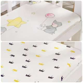 BNIB Cot/Playpen  Fitted Bedsheet