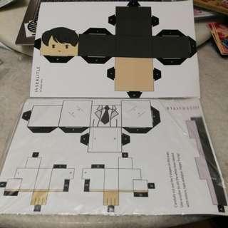 [KAI SALES] Jin paper toy