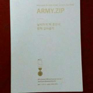 Wts Fast BTS Army Zip 2nd