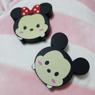 Mickey & Minnie Magnet Set