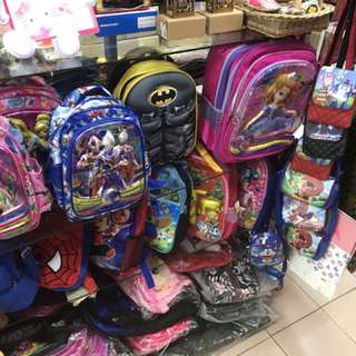 School Bags Available