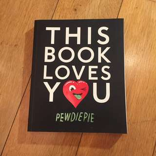 This Book Loves You - Pewdiepie #kanopixcarousell