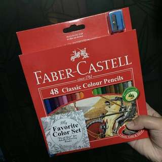 Faber Castell Color Pencils (48 colors)