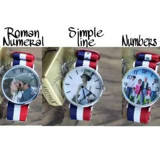 DIY Photo Watch Personalised &Customized & Exclusive