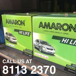 PROMOTION Amaron / Globatt Car Battery