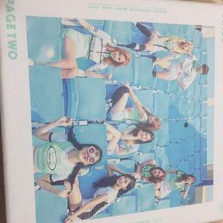 TWICE PAGE TWO ALBUM MINT VER