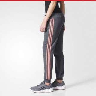 Grey Pink Adidas Sweatpants