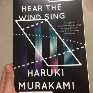 Haruki Murakami Hear The Wind Sing/Pinball 1975