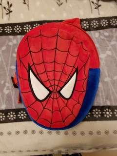 🚚 暖暖毛蜘蛛人背包