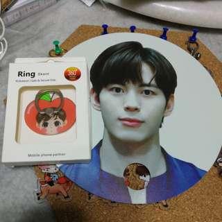 [KAI SALES] Hongbin apple Iring & free fam