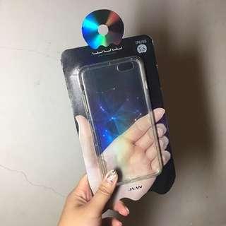 WUW iPhone 6/6s plus 正版空壓殼 有耳機孔 透明色
