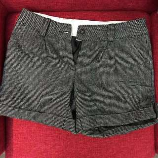 🇰🇷 Checkered Winter Shorts (韓國絨布短褲)