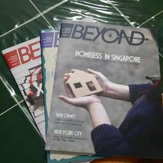 BEYOND magazine Issues 12-14