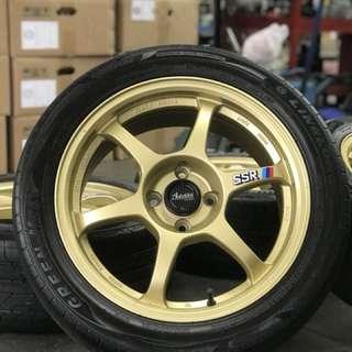 Ssr type c-rs 16 inch sports rim almera tyre 70%. Ini lah rim yang bernama ssr , yang tak pernah membuat hati abang2 gusar!!!