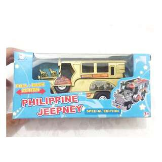 PHilippine Jeepney - Special Edition - Gold Collectible Display Toy