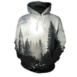 Hazy Forest Hoodie