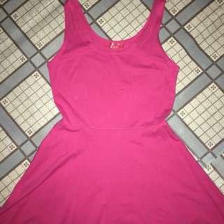 Redhead Pink Dress