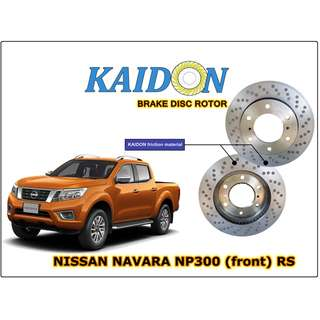 "NISSAN NAVARA NP300 disc rotor KAIDON (front) type""RS""spec"