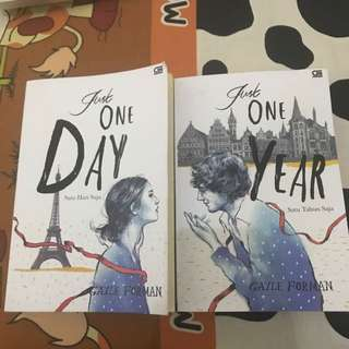 Novel Just one day & just one year