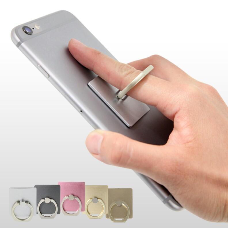 360° Cell Phone Mobile GPS Finger Ring Metal Grip Stand Car Mount Cradle Holder