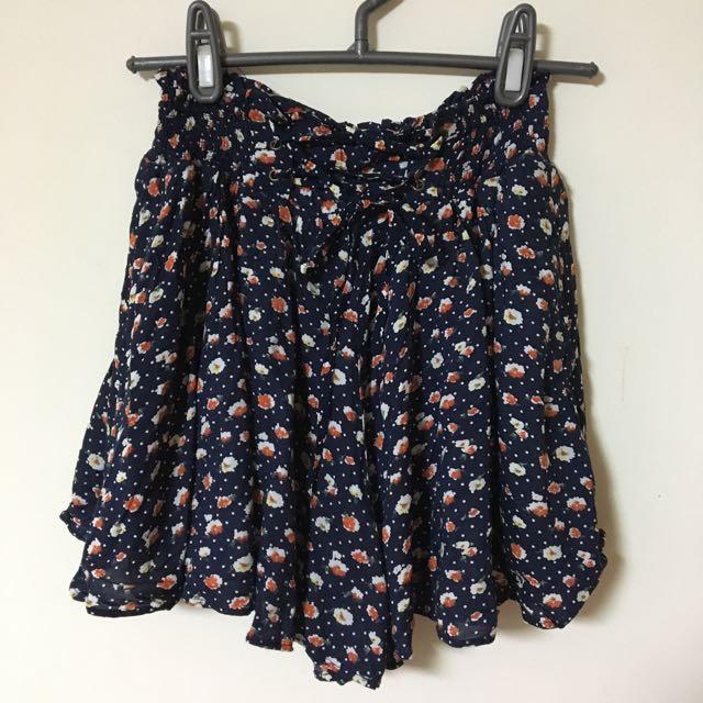 春🌾碎花褲裙