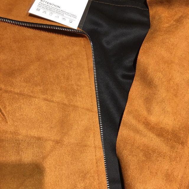 🚚 現貨✨✨立體剪裁麂皮外套
