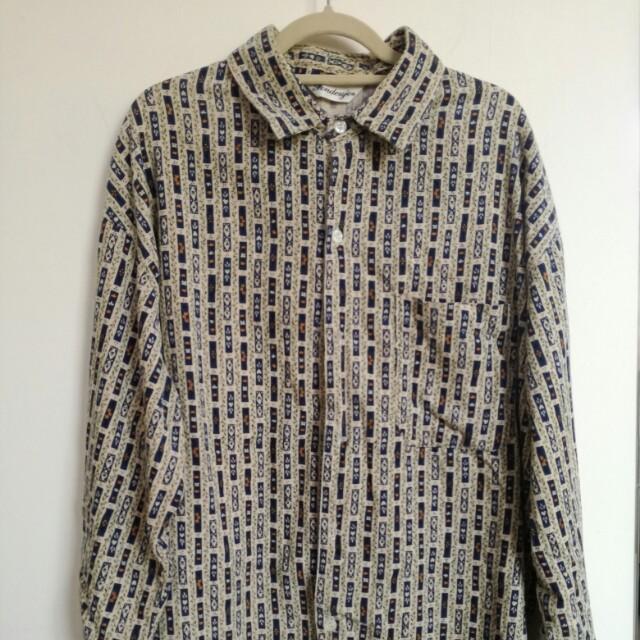 古著燈芯絨襯衫/外套