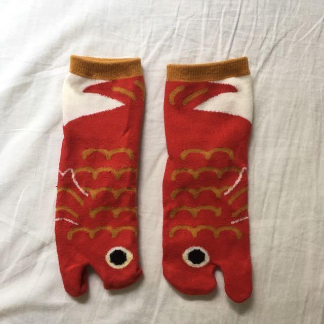 神經病媽媽 造型襪 鯉魚 熊貓襪 morning deer 行星 電波銀河