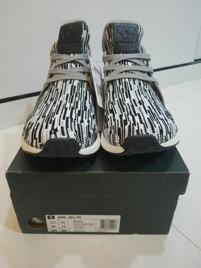 reputable site 30cf5 63da9 Adidas NMD xr1 PK Glitch Camo Oreo, Men's Fashion, Footwear ...