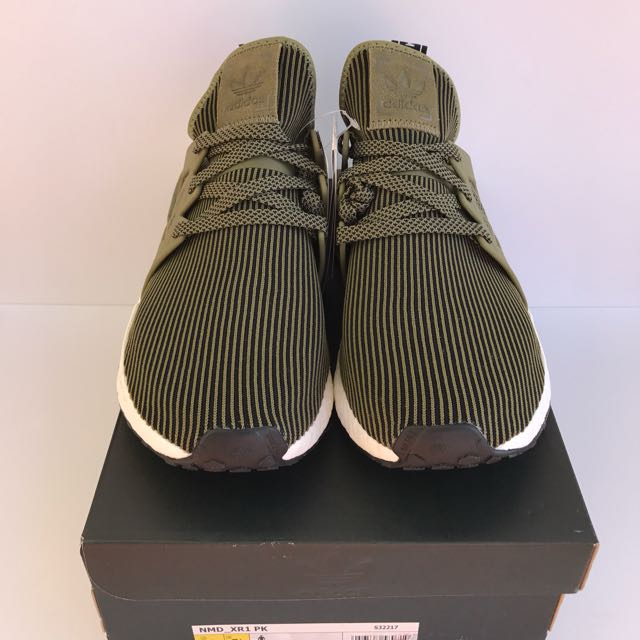 Adidas NMD XR1 PK Olive Size Mens US 8 BRAND NEW