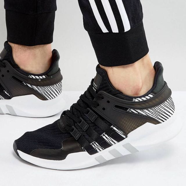 san francisco 9cc3e a5382 Adidas originals EQT support adv trainers black by9585, Men s Fashion,  Footwear on Carousell