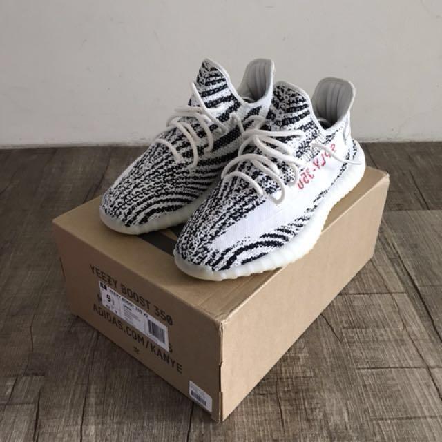 072f31f0ae874 Adidas Yeezy Boost 350 V2 Zebra
